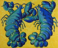 Blue Lobsters in Butter by Gail Cleveland