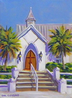 United Methodist Church Boca Grande by Gail ClevelandImage 9x12 Frame 10x13.5$750.00 + tax and S&H