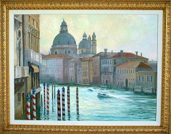 """The Grand Canal by Wini Smart30"""" x 40"""" oil, framed, $4200.00 + tax and S&H"""