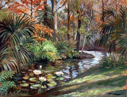 """Turner River by Wini Smart24"""" x 30"""" oil, $3600.00 + tax and S&H"""