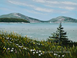 Spring Somes Sound by Gail Cleveland | Acrylic 18x24in $2,500