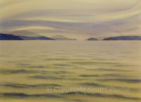 The Gap, Early Evening by Gail Cleveland | Water Color  22x30 $3200