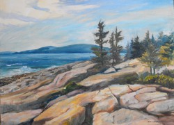 Schoodic Shore Oil - Wini Smart 30x40